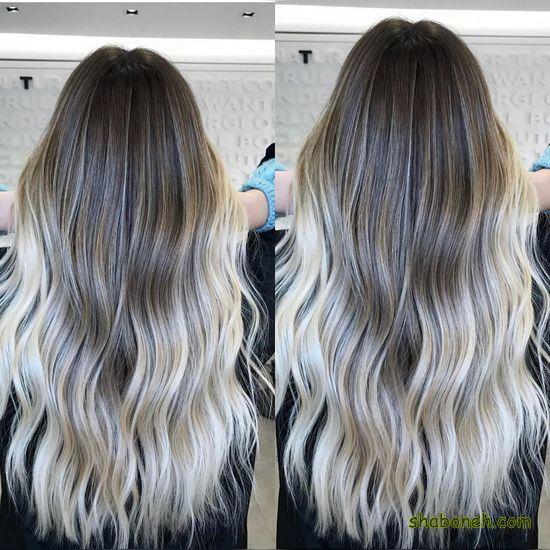 جدیدترین مدل رنگ مو بدون دکلره