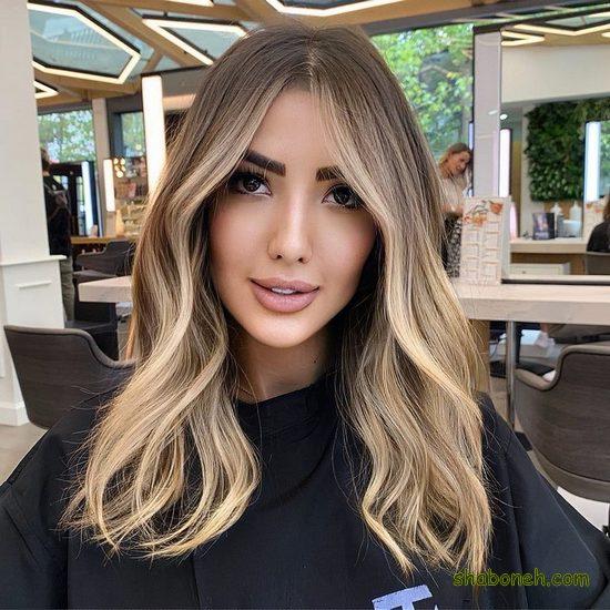 مدل رنگ مو آمبره 2020
