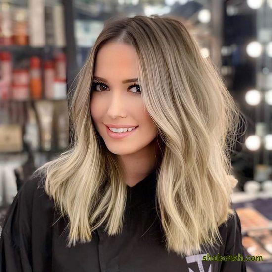 رنگ مو جدید 2020 خوشگل
