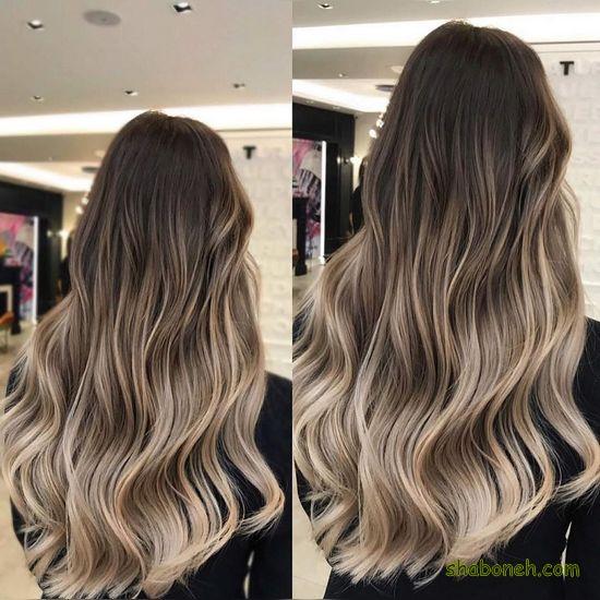 رنگ مو جدید دخترانه خوشگل