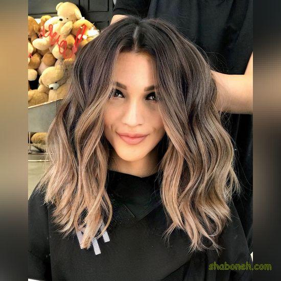 رنگ مو جدید روشن خوشگل
