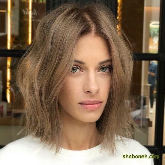 جدیدترین مدل رنگ مو خوشگل
