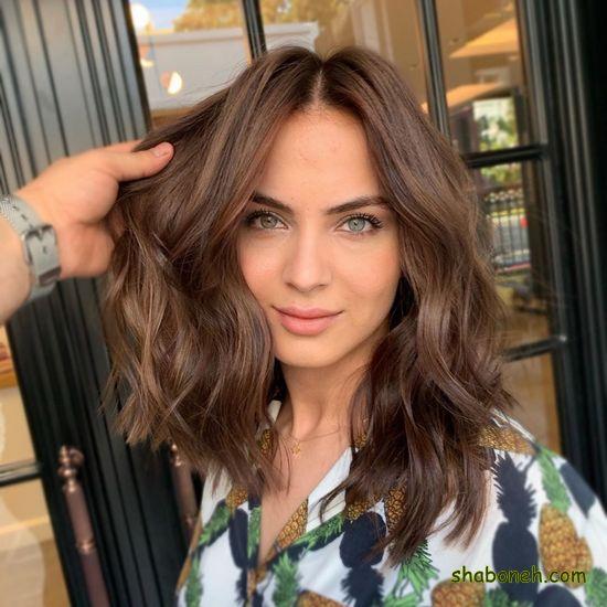 جدیدترین مدل رنگ مو بدون دکلره خوشگل