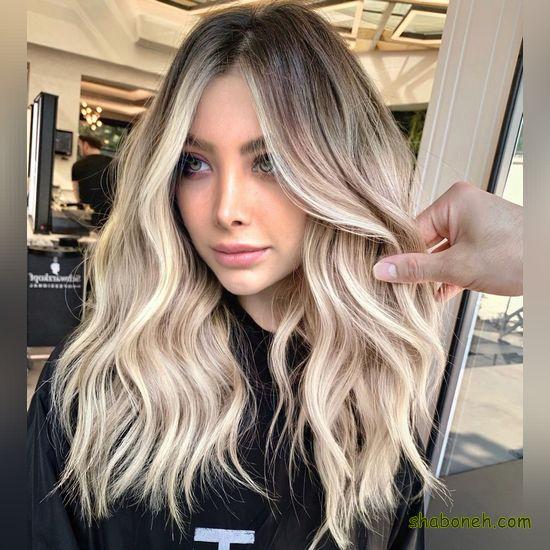 جدیدترین مدل رنگ موی سال خوشگل