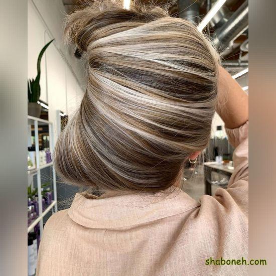 جدیدترین مدل رنگ موی سال ۹۹ خوشگل