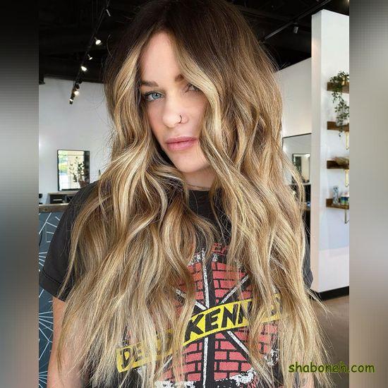 تصاویر مدل رنگ مو جدید