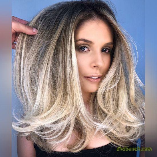 مدل رنگ موهای جدید زنانه