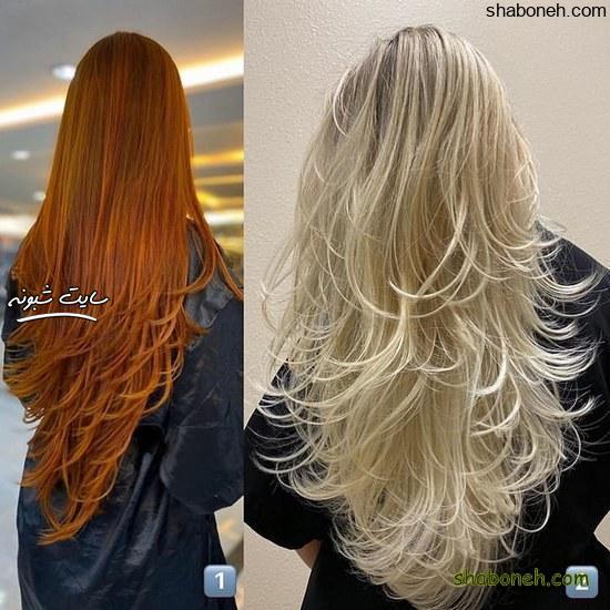 جدیدترین مدل رنگ مو بدون دکلره خاص و جذاب
