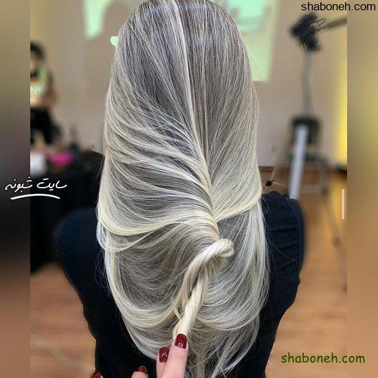 مدل رنگ مو جدید برای عروس