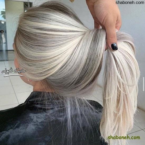 تصاویر مدل رنگ مو جدید خفن و لاکچری خوشگل