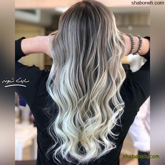 مدل رنگ موی جدید هایلایت