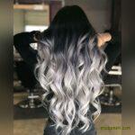 عکس مدل رنگ مو مش روشن جدید 2021 | پرطرفدارترین رنگ موهای امسال