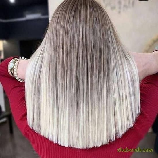 رنگ مو جدید سال 1400 جذاب