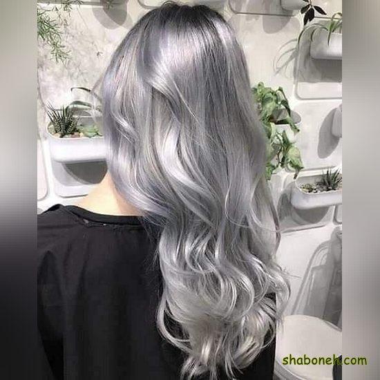 رنگ مو جدید بدون دکلره جذاب