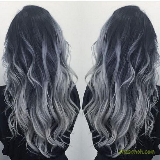 رنگ مو جدید 2021 جذاب