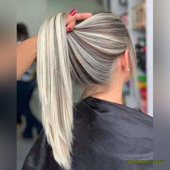 رنگ مو جدید دخترانه جذاب