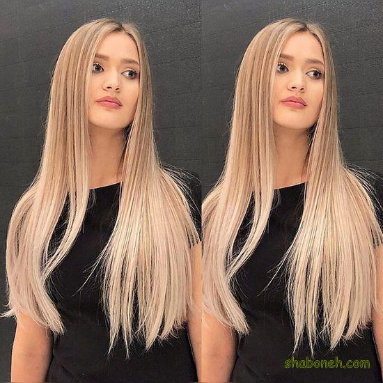 جدیدترین مدل رنگ مو جذاب