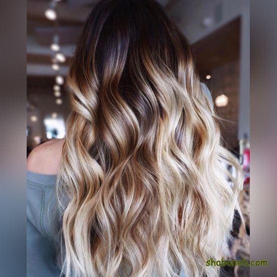 مدل رنگ موهای جدید و زیبا