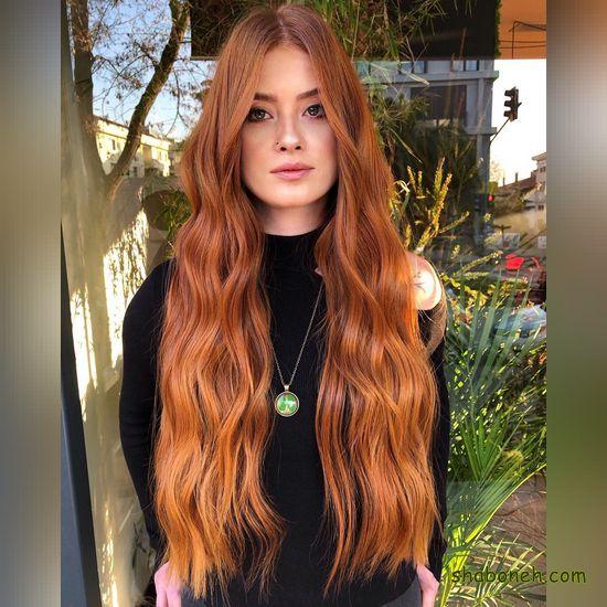 عکسهای مدل رنگ موی جدید