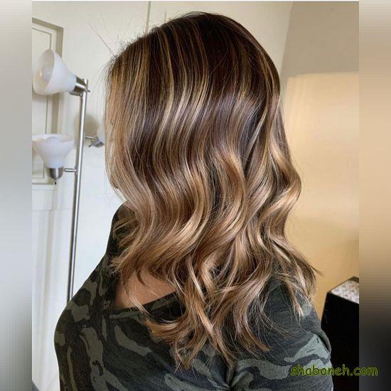 مدل رنگ مو جدید و زیبا
