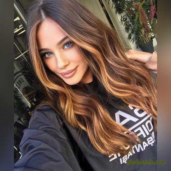 مدل رنگ مو بدون دکلره بسیار شیک