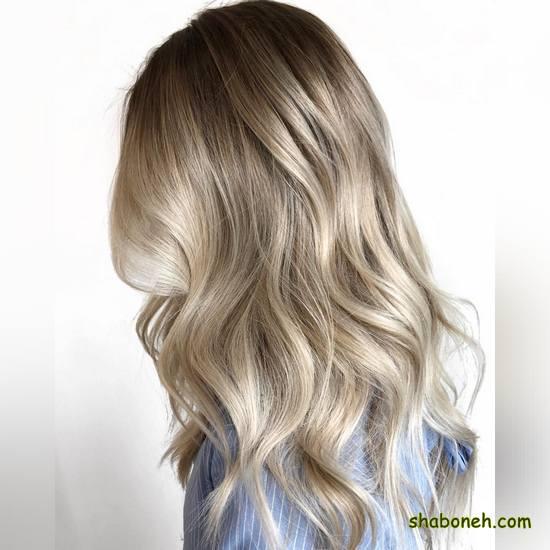مدل رنگ مو دخترانه بسیار شیک