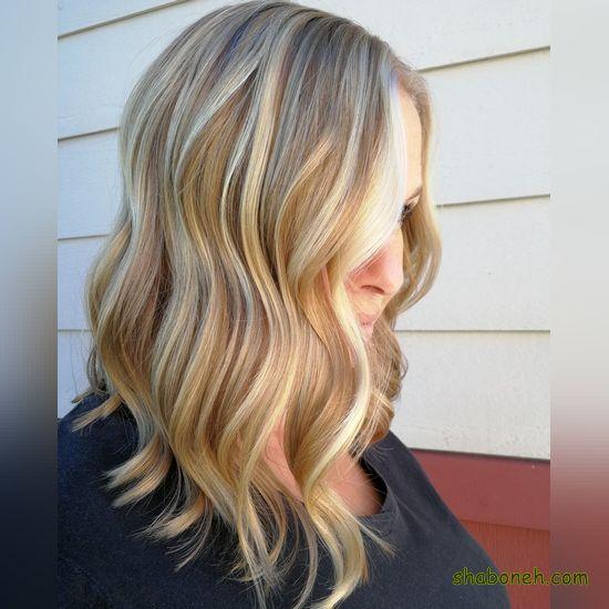 انواع رنگ مو جدید و زیبا