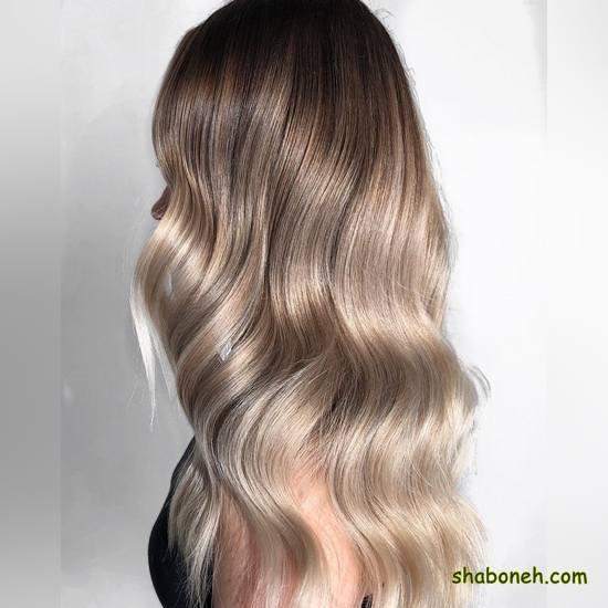 رنگ مو زیبا برای پوست سبزه