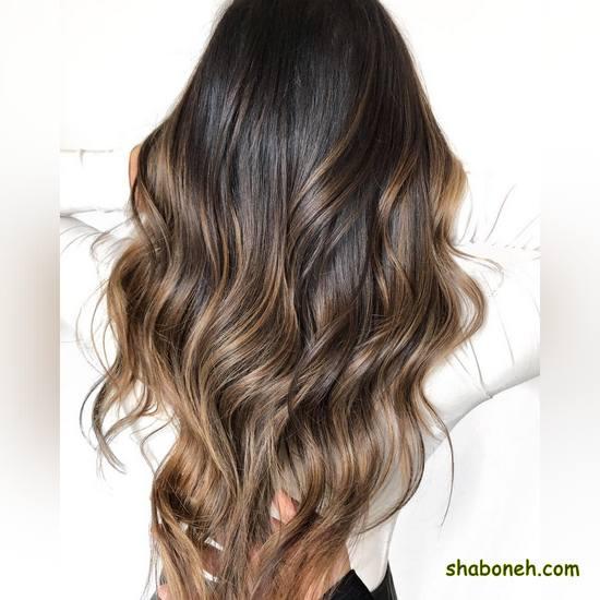 مدل رنگ مو هایلایت بسیار شیک