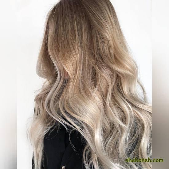 مدل رنگ مو عروس بسیار شیک