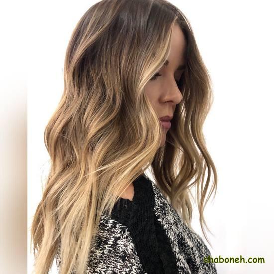 مدل جدید رنگ مو دخترانه بسیار شیک