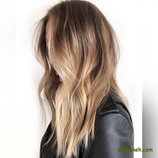 مدل جدید رنگ مو ۹۹ بسیار شیک