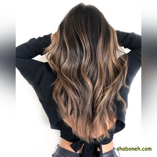 رنگ مو شیک جدید