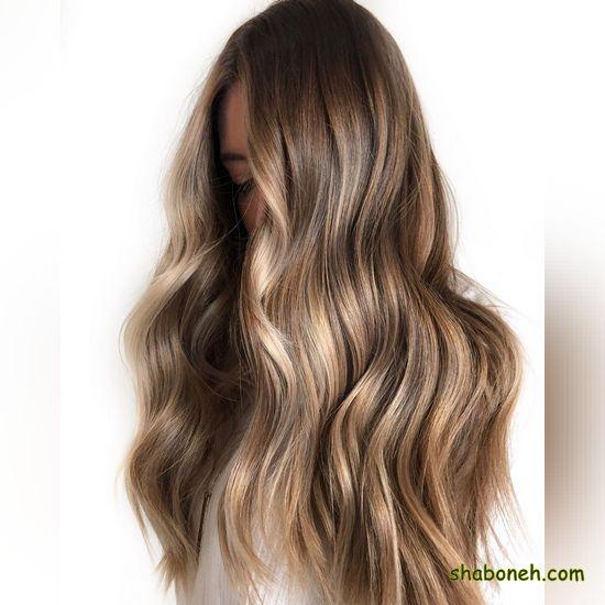 انواع رنگ موها بسیار شیک