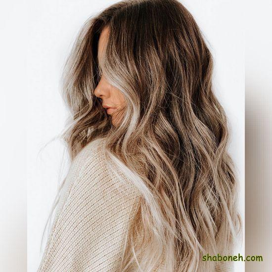 انواع رنگ مو روشن بسیار شیک