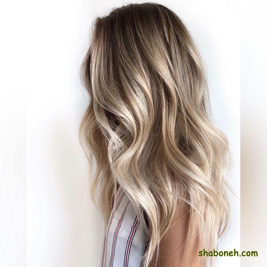 رنگ مو شیک تیره
