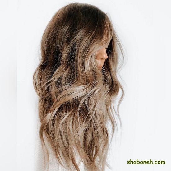 انواع رنگ موی قهوه ای بسیار شیک