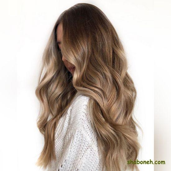 انواع رنگ مو جدید بسیار شیک