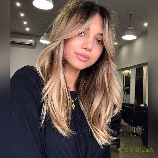 ترکیب رنگ موی جدید و زیبا
