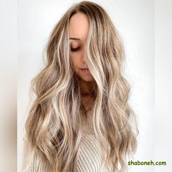 مدل رنگ مو هایلایت