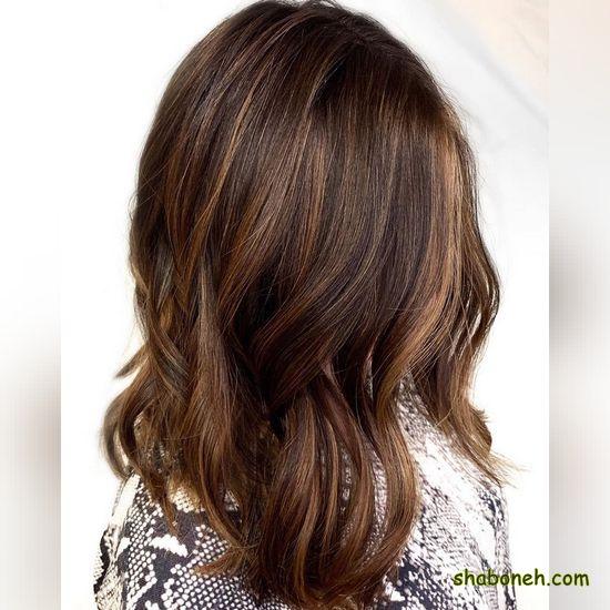 انواع رنگ موها