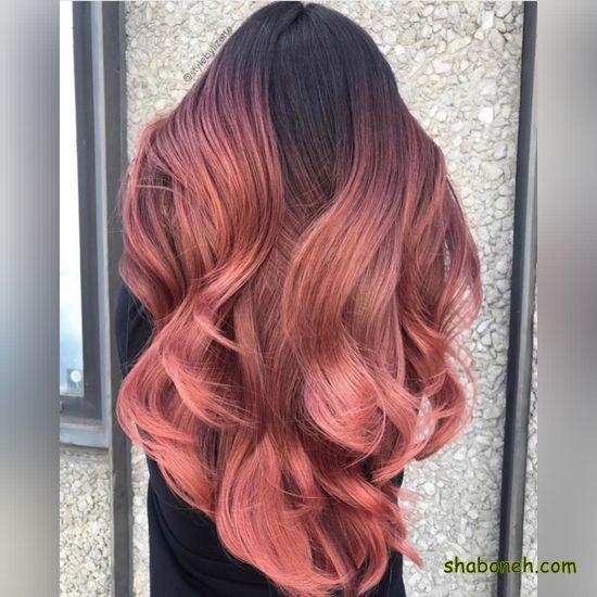 انواع رنگ موی فانتزی