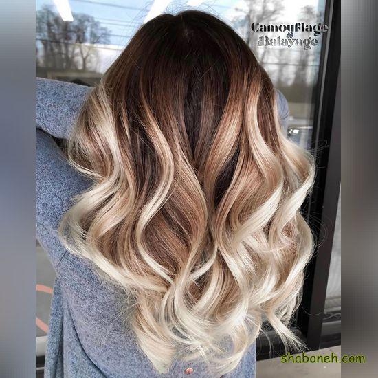 انواع رنگ موی بلوند