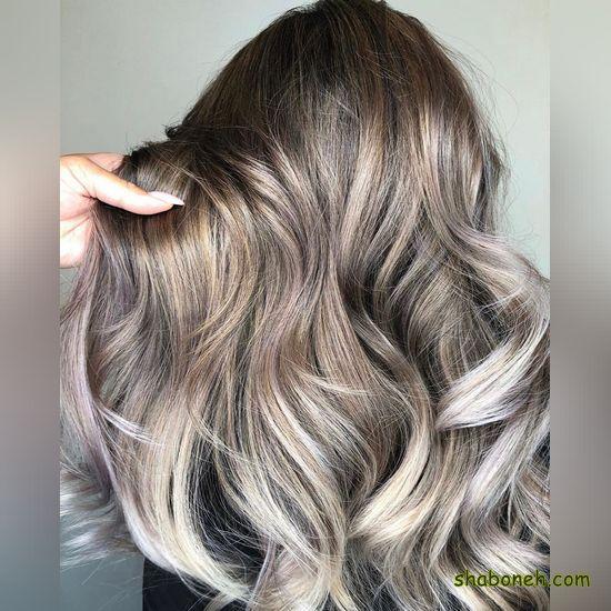 انواع رنگ مو جدید سال