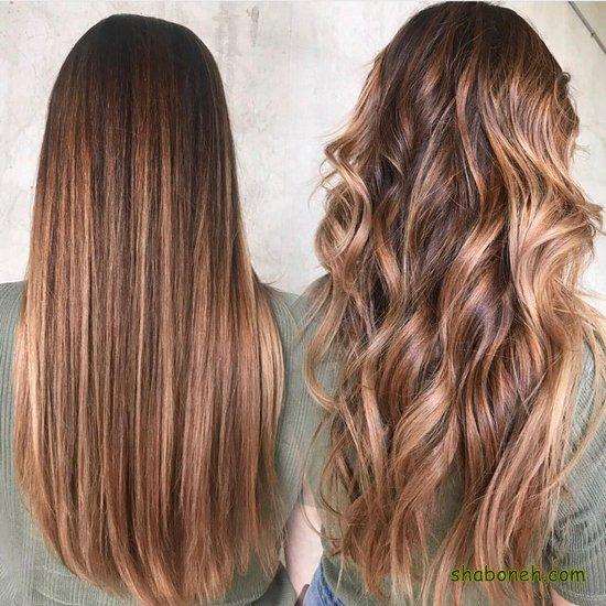 انواع رنگ مو جدید 2020