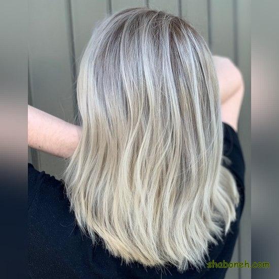 رنگ مو شیک برای موهای کوتاه