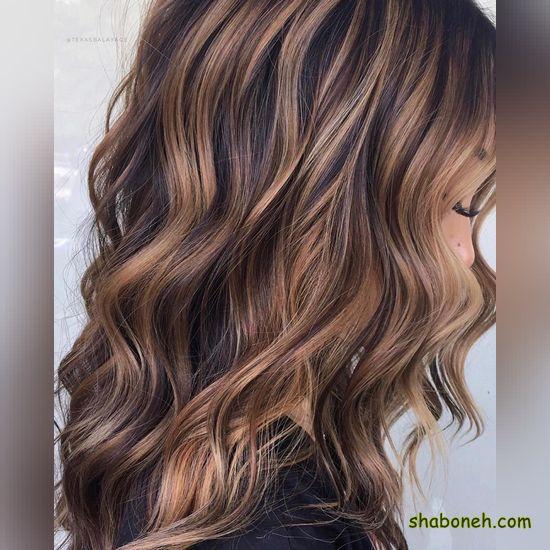 مدل رنگ مو جدید مدرن و خاص