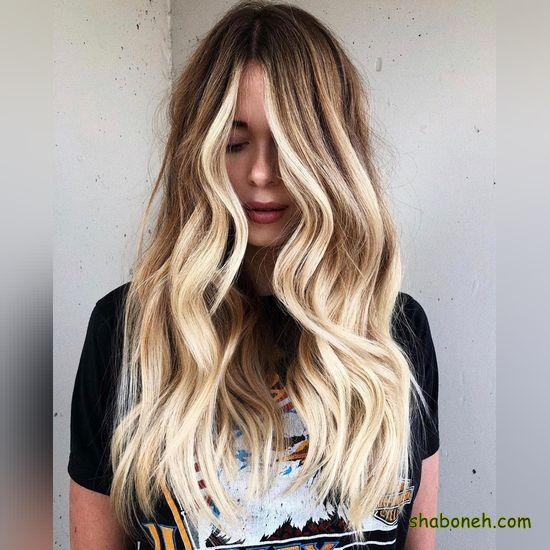 مدل رنگ مو بدون دکلره مدرن و خاص