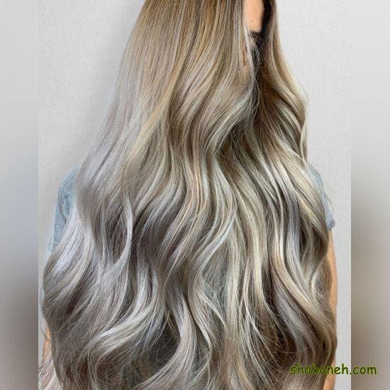 مدل رنگ مو مش مدرن و خاص