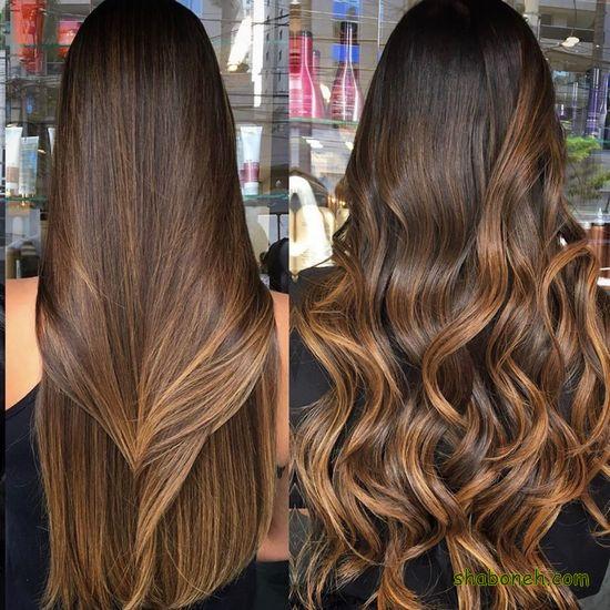 مدل رنگ مو هایلایت مدرن و خاص